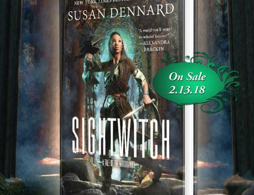Friday Reads – Sightwitch by Susan Dennard